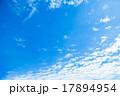 空 雲 高積雲の写真 17894954
