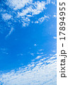 空 雲 高積雲の写真 17894955