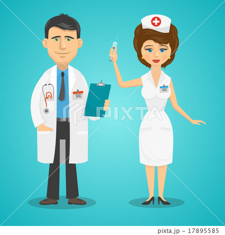 Hookup a doctor as a nurse
