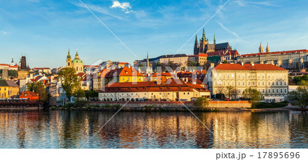 View Gradchany (Prague Castle) and St. Vitus