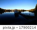 フィンランド「ハメーンリンナ」ハメ湖に写る町並み 17900214