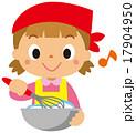 料理 クッキング 子供のイラスト 17904950