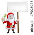 さんた サンタ サンタクロースのイラスト 17908028