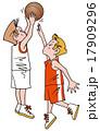 バスケットボールイラスト1 17909296