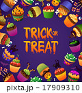 Trick or Treat Happy Halloween Greeting Card 17909310