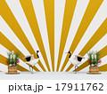 鶴と門松 17911762