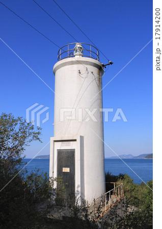 香川県三豊市、荘内半島の「箱崎灯台」 17914200
