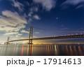 明石海峡大橋の星空 17914613
