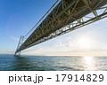 明石海峡大橋(淡路側より) 17914829