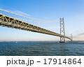 明石海峡大橋(淡路側より) 17914864