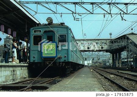 大糸線さようならゲタ電号 松本駅(1981年7月26日)  17915875