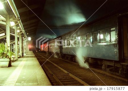 夜汽車 山陰本線のとある駅(1982年3月27日) 17915877