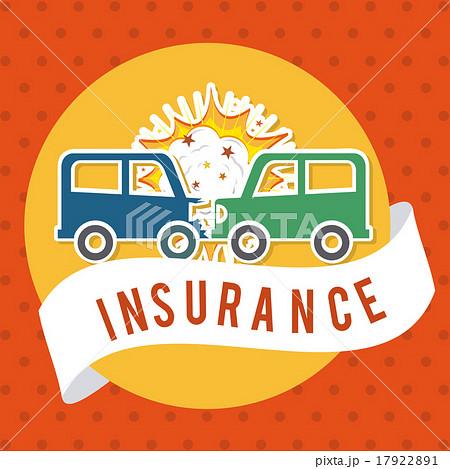 insurance design over dotted background vector illustrationのイラスト素材 [17922891] - PIXTA