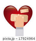 ハート ハートマーク 心臓のイラスト 17924964