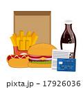 食 料理 食べ物のイラスト 17926036