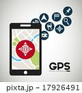 GPS ナビ ナビゲーションのイラスト 17926491