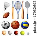 アメリカンフットボール サッカー フットボールのイラスト 17932692