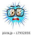 顔 面 面子のイラスト 17932856
