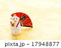 さる 扇子 人形の写真 17948877