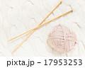 手編み 編み物 毛糸の写真 17953253