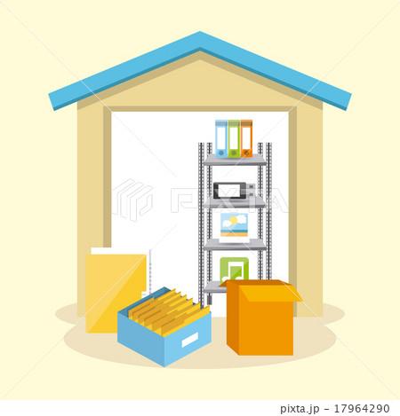 data storage centerのイラスト素材 [17964290] - PIXTA