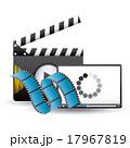 プレイヤー ビデオ 媒体のイラスト 17967819