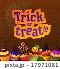 Happy Halloween Trick or Treat Greeting Card 17971081