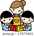 園児 男の子 女の子のイラスト 17973903