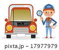 自動車整備士 点検 車のイラスト 17977979