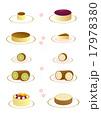 パンケーキ ロールケーキ バウムクーヘン 17978380