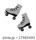 ローラースケートの靴 17983493