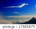 大天井岳から見た竜の形の雲 17983675