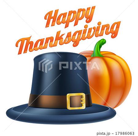 Happy Thanksgiving Illustrationのイラスト素材 [17986063] - PIXTA