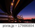 五色桜大橋と富士 17986804
