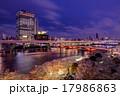隅田川の夜桜 17986863
