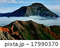 大天井岳から見る残照の常念岳 17990370