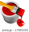 Paint can and paintbrush 17993292