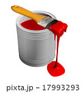 Paint can and paintbrush 17993293