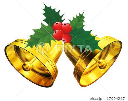 クリスマスベルのイラスト素材 17994247 Pixta