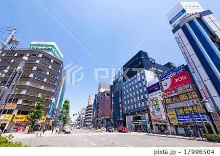 名古屋都市風景 金山駅前 街並み 17996504