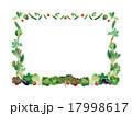 野菜フレーム(四角) 17998617