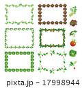 野菜フレーム(四角・セロリ、サニーレタス、パセリ、ミニトマト、レタス、ラディッシュ) 17998944