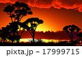 夕暮れ 薄暮 景色のイラスト 17999715