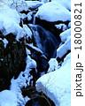 藤沢渓流 冬 積雪の写真 18000821