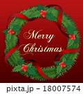 クリスマスリース 18007574
