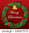 クリスマスリース 18007575