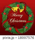 クリスマスリース 18007576