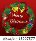 クリスマスリース 18007577