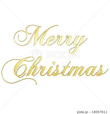 クリスマス 文字 メリー