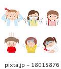 小学生の風邪 女の子 18015876